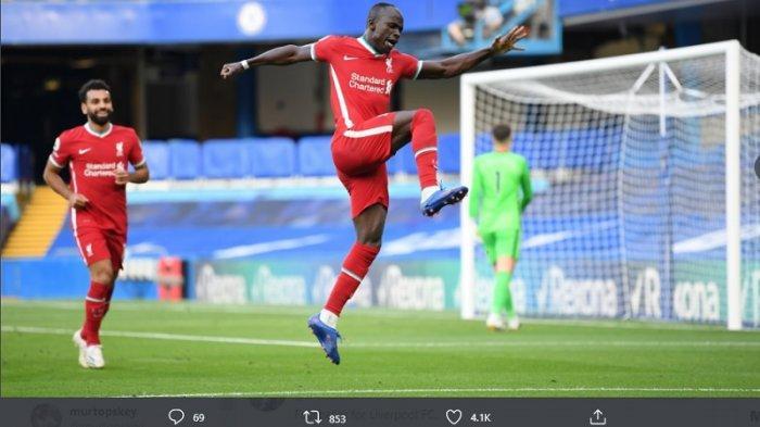 Klasemen Liga Inggris: Sadio Mane Terjebak Offside, Everton Aman di Puncak Terbantu Keputusan VAR