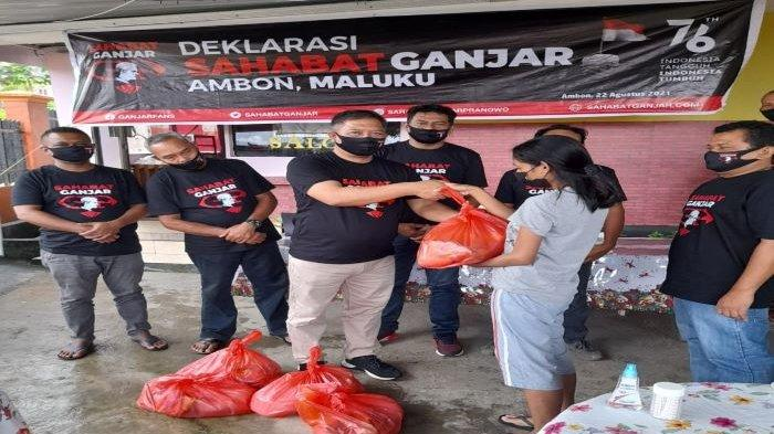 Hargai Perbedaan, Sahabat Ganjar Maluku dan NTT Deklarasi Dukung Ganjar Pranowo Maju di Pilpres 2024