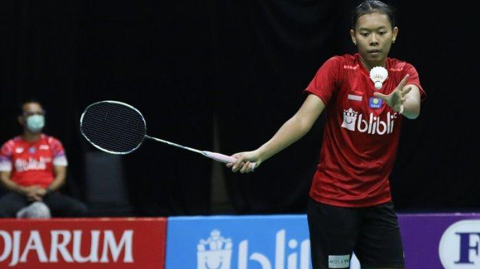 Saifi Rizka Nur Hidayah menyumbangkan satu poin kemenangan untuk tim Rajawali