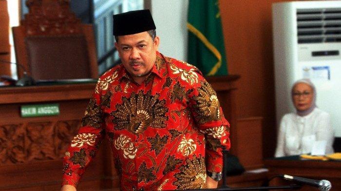 BERITA FOTO: Penampakan Wakil Ketua DPR Fahri Hamzah Jadi Saksi Ratna Sarumpaet