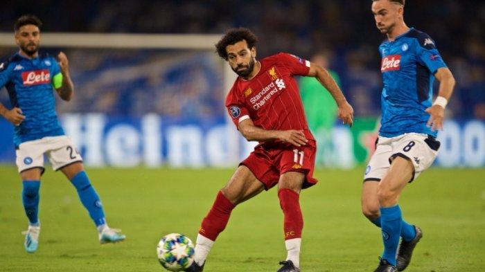 KEJUTAN, Liverpool Dikalahkan Napoli 2-0, Gol Dicetak Mertens dan Llorente Babak Kedua