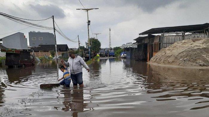 Ini Sejumlah Titik Banjir Terparah di Kota Tangerang