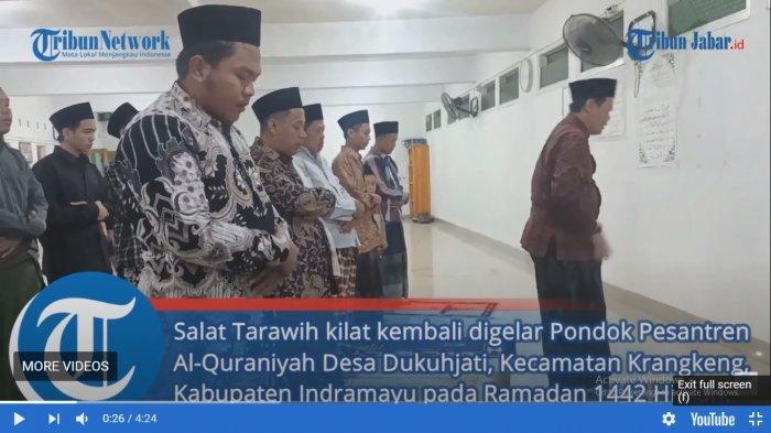 Viral Jemaah di Pondok Pesantren Al-Quraniyah Indramayu Salat Taraweh 23 Rakaat hanya 6 Menit