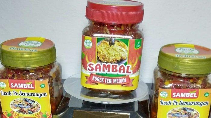 Lindy Food: Hadirkan 3 Varian Sambal Produk Rumahan, Awet 2 Bulan dalam Kulkas