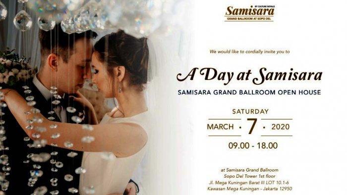 Samisara Grand Ballroom Gelar Wedding Open House