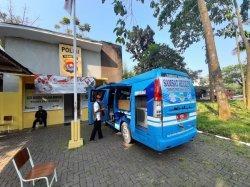Samsat Balaraja Berinovasi Terjunkan Mobil Keliling untuk Layani Masyarakat di Tengah Pandemi