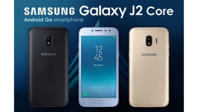 Harga Rp 1 Jutaan, Samsung Luncurkan Android Go Galaxy J2 Core 2020, Ini Bedanya dengan J2 Core 2018 - Warta Kota