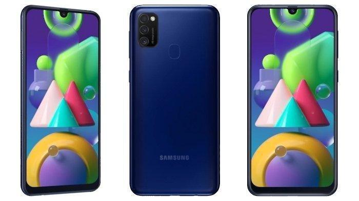 Harga Rp 3 Juta, Baterai Jumbo 6.000 mAh, RAM 4G, Ini Spesifikasi Lengkap Samsung Galaxy M21