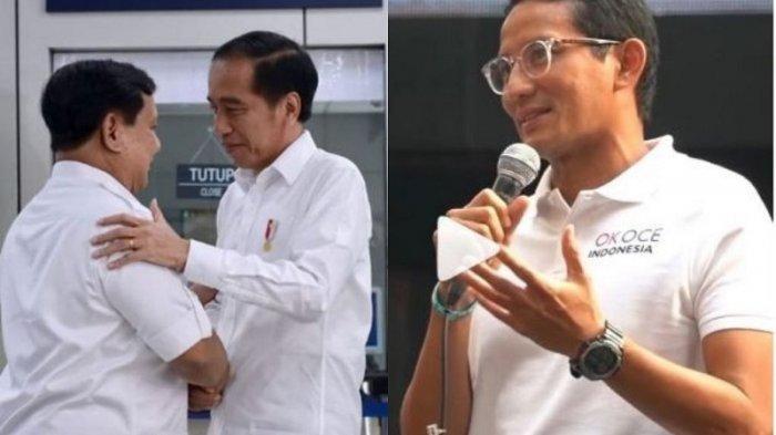 Inilah SIKAP POLITIK Sandiaga Uno Usai Pertemuan Jokowi-Prabowo di MRT, Tak Akan Kecewakan Pendukung