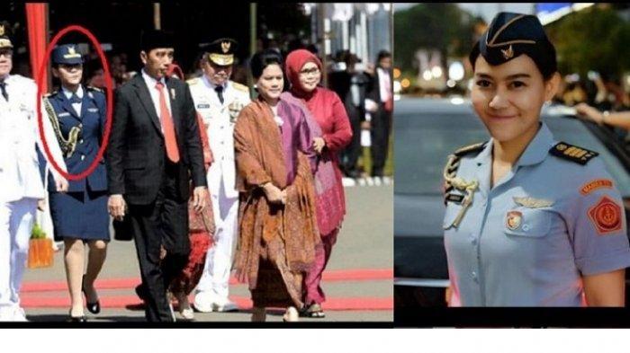 Ajudan Iriana Jokowi, Sandhyca Putrie yang Masih Lajang Masuk Tentara Lewat Jalur Sarjana