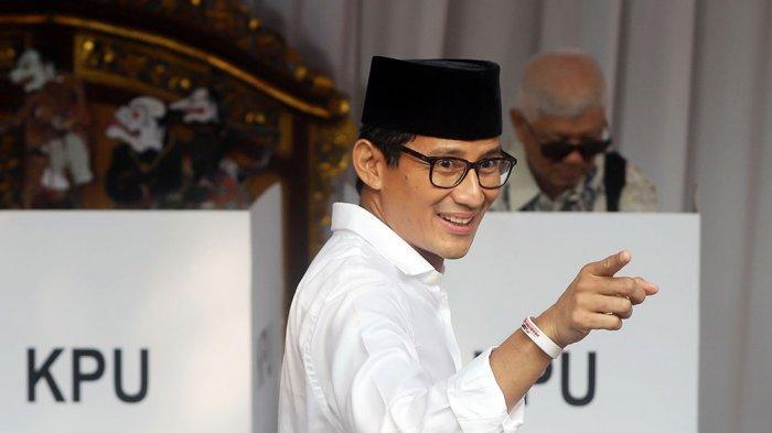 Sandiaga Uno: Kursi Wakil Gubernur DKI Diserahkan ke PKS, End of Question, Jangan Digoreng Lagi