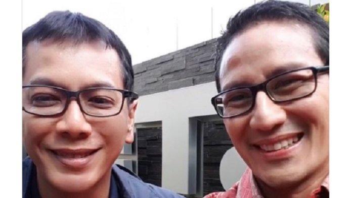 BREAKING NEWS: Sandiaga Uno Menjabat Menparekraf RI, Wishnutama Kusubandio Ucapkan Selamat: Sukses