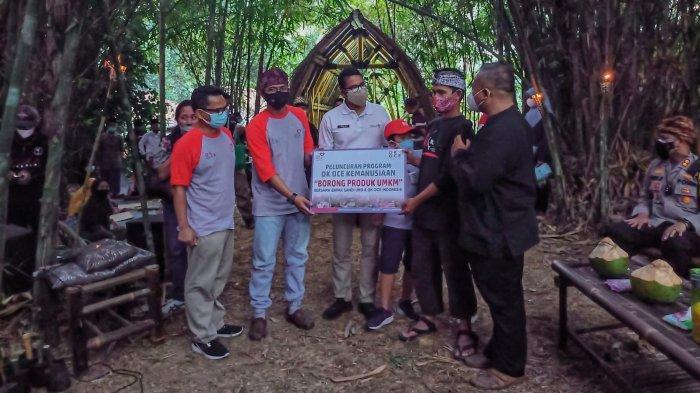 Geliatkan Ekonomi Rakyat, Sandiaga Uno Bersama OK OCE Kemanusiaan Borong Produk UMKM Sukabumi