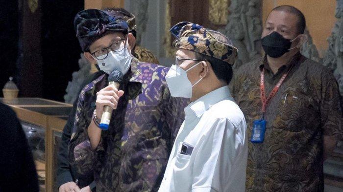 Vaksinasi Covid19 Capai 3 Juta Dosis, Sandiaga Uno Optimis Target Pembukaan Pariwisata Bali Tercapai