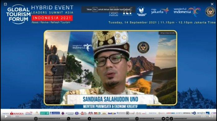Pemulihan Ekonomi Indonesia Diyakini Sandiaga Uno Terwujud Lewat Kolaborasi Bersama Komunitas Dunia