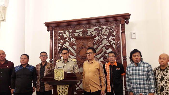 Bulan Depan Sandiaga Uno Ngelenong di Taman Ismail Marzuki