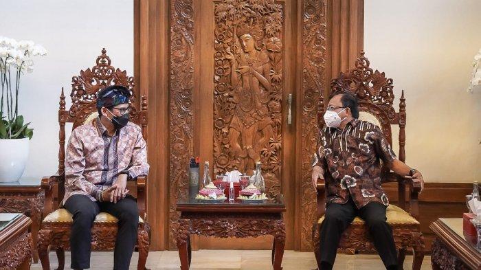 Kebut Pembangunan Pariwisata Bali, Sandiaga Uno Gandeng Pemerintah Daerah Ciptakan Lapangan Kerja