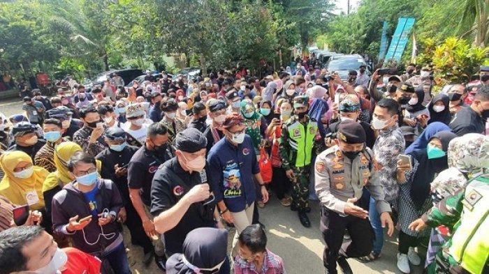 Warga Sebut Menparekraf Sandiaga Uno Menteri Pertama yang Berkunjung ke Desa Wisata Cikakak Banyumas