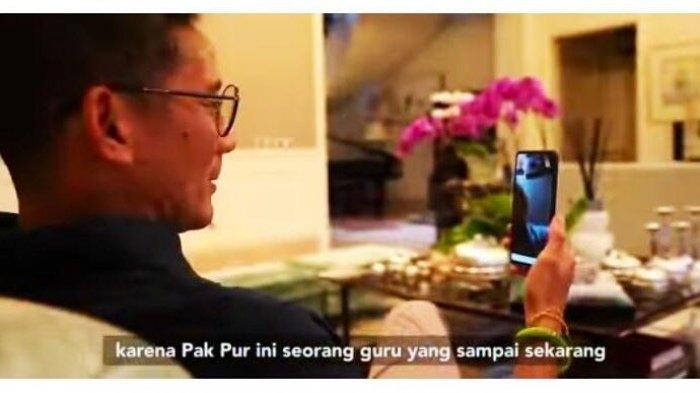 Di Pilpres Berpasangan dengan Prabowo Subianto, Ini Pesan Sandiaga Uno di Hari Guru Nasional