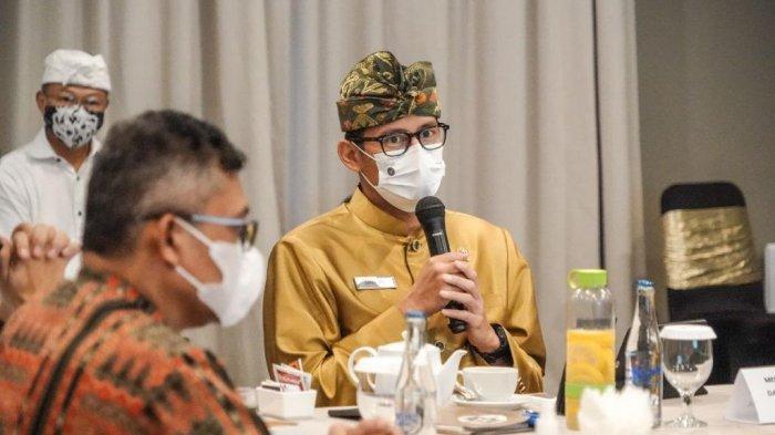 Buka Lapangan Kerja, Sandiaga Uno Dorong Kecamatan Kuta Bisa Ramai Dikunjungi Turis Mancanegara