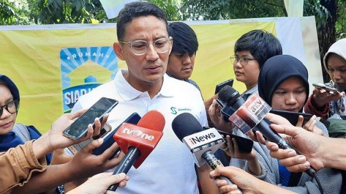 Hasil Ngobrol Privat dengan Ketua DPRD DKI, Sandiaga Uno Bilang Bulan Depan Jakarta Punya Wagub Baru