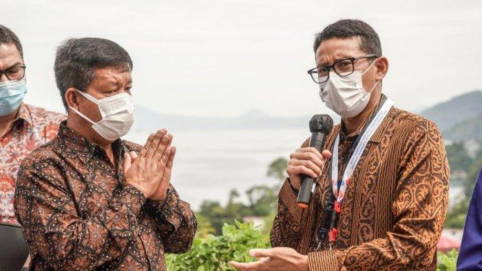 Kebut Pemulihan DSP Danau Toba, Sandiaga Uno Finalisasi Rencana Besar Pengembangan Pariwisata