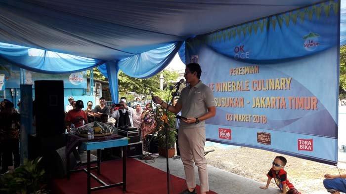 PKL Berdagang di Trotoar Melawai, Sandiaga Salahkan Pemprov DKI