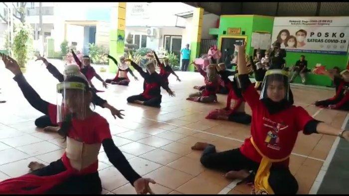 VIDEO: Sanggar Tari di Tangerang Kembali Gelar Latihan, Peserta Pakai Face Shield