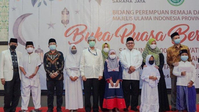 Sambut Idul Fitri, Sarana Jaya dan MUI DKI Jakarta Gelar Santunan kepada 100 Anak Yatim