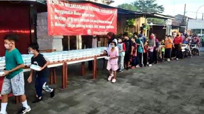 Dua Pekan Bagikan Sarapan Gratis, Ketua Umum Pospera: Jangan Pernah Lelah Mencintai Indonesia