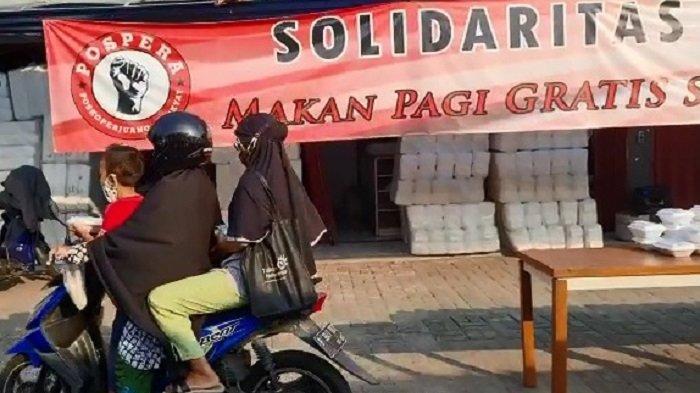 Aksi Sosial Sarapan Gratis Berlanjut, Ketua Umum Pospera: Indonesia Pasti Menang Lawan Covid 19