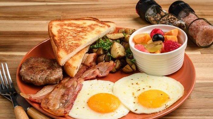 Ilustrasi menu sarapan