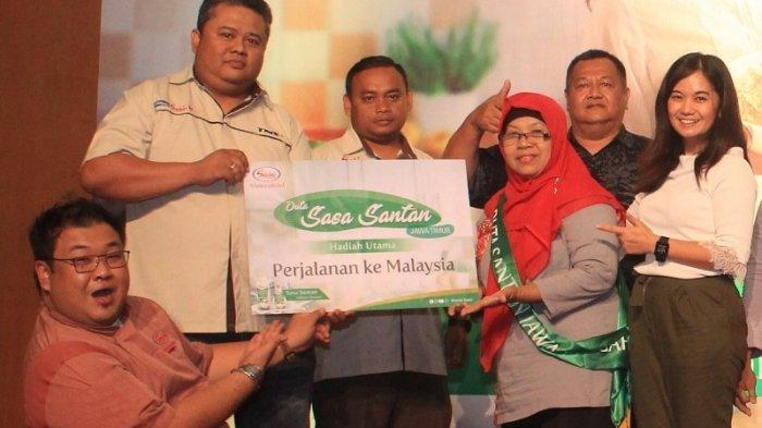 Sasa Inti Pilih Tiga Duta Sasa Santan Jalan-Jalan ke Malaysia