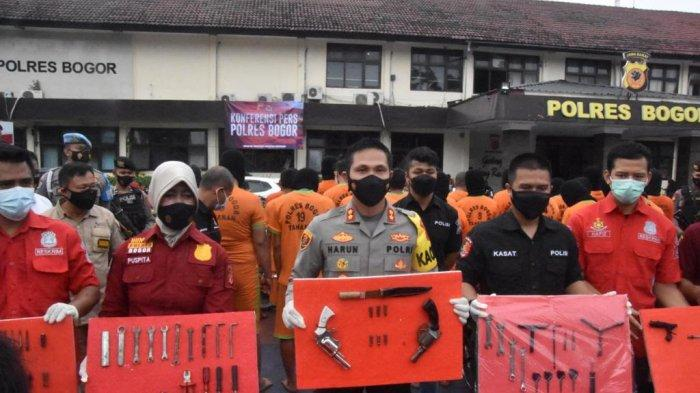 Anda Kehilangan Kendaraan? Bisa Cek di Polres Bogor, Ada 134 Unit Hasil Curian yang Diamankan
