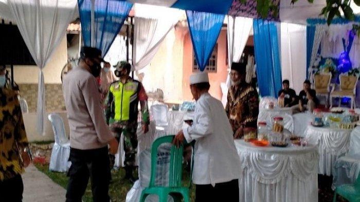 Pesta Pernikahan di Bekasi Dibubarkan Satgas Covid-19, Tamu Undangan Dipaksa Pulang