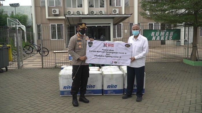 Satgas Covid-19 Kabupaten Bekasi Terima Bantuan APD dan Obat dari Jababeka dan RS Amanda