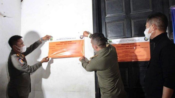 Satpol PP Kabupaten Bekasi Segel 42 Tempat Hiburan Malam Pelanggar Protokol Kesehatan Selama PPKM
