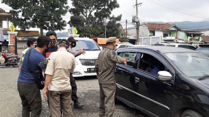Ini Keluhan Wisatawan di Pamijahan Kabupaten Bogor yang Disuruh Putar Balik Satpol PP