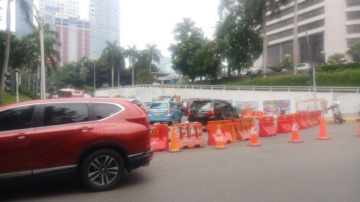 Berikut Ini Pengalihan Rute Jalan RM Margono di Jakarta Pusat yang Diberlakukan Sistem Satu Arah