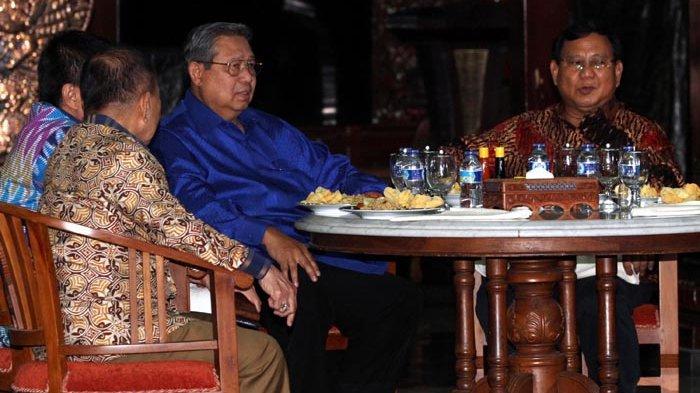 Diplomasi Nasi Goreng di Pendopo Perjuangan Cikeas
