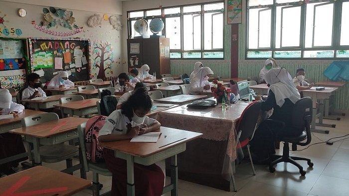 Evaluasi Hari Pertama PTM di SDN Tanjung Priok 01, Masih Ada Orangtua Tidak Izinkan Anaknya Hadir