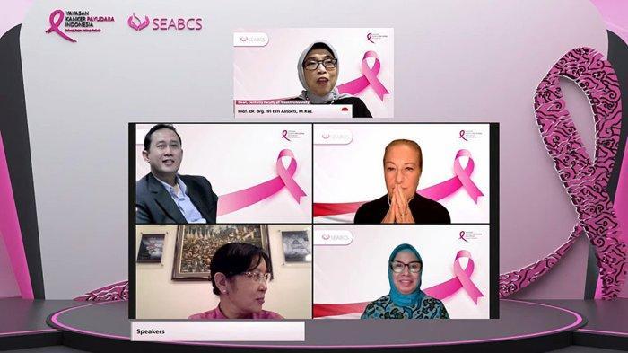 Acara Southeast Asia Breast Cancer Symposium (SEABCS) 2021 berlangsung secara virtual dengan YKPI sebagai penyelenggaranya