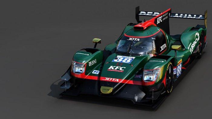 Ini mobil balap yang akan dgunakan oleh Sean Gelael diajang WEC bersama tim JOTA