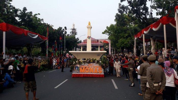 VIDEO: Motor Gede dan Mobil Hias SKPD Tutup Iring Iringan Parade Jakarnaval 2019