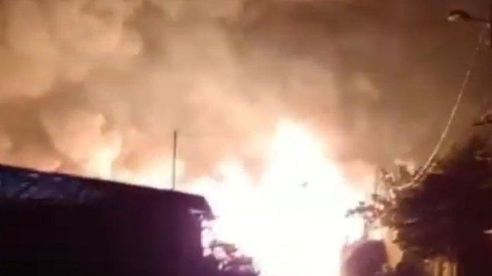 Kebakaran di Gudang Gas di Meruya Terbakar Selasa Dini Hari, Kerugian Rp 1 Miliar