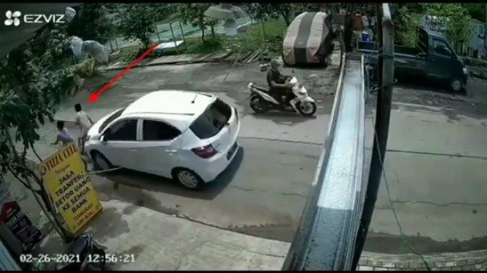 Ada Bukti rekaman CCTV, Pelaku Tabrak Lari Satu Keluarga di Kelapa Gading Sudah Teridentifikasi