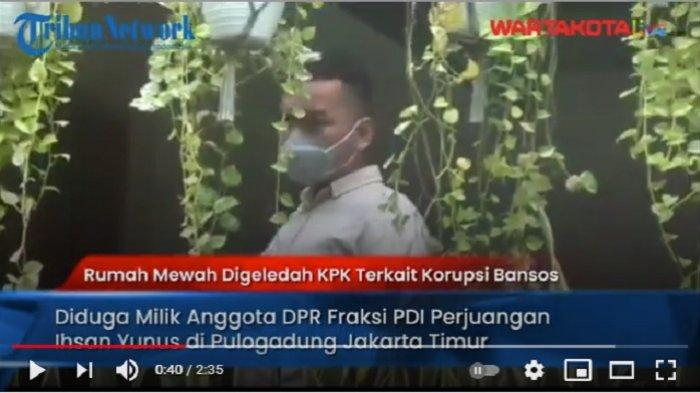 VIDEO KPK Geledah Rumah Mewah di Pulogadung, Diduga Milik Ihsan Yunus