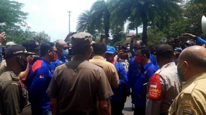 Pemkab Tangerang Khawatirkan Klaster Baru Covid-19 dalam Aksi Demo Buruh