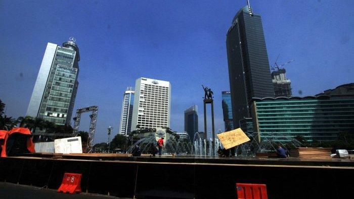 Jalan MH Thamrin Ditutup Sehari Demi HUT DKI Jakarta ke 492