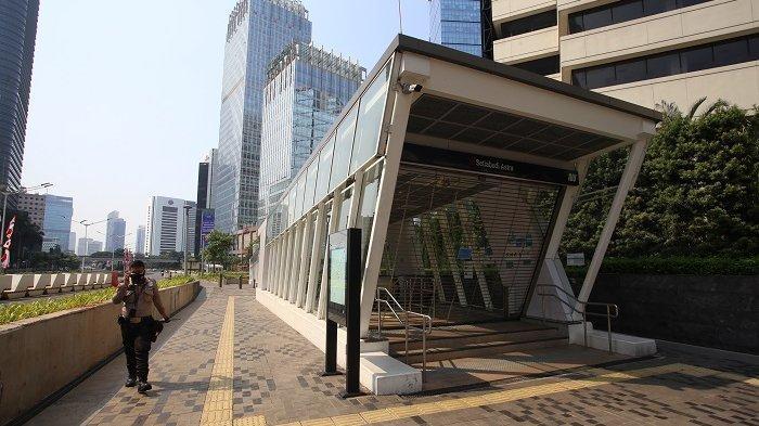 Jumlah Penumpang Turun Selama PPKM, MRT Jakarta Andalkan Pendapatan Non Tiket